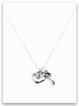 Daddy Daughter Sterling Silver Necklace