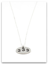 333 Sterling Silver Pendant Necklace