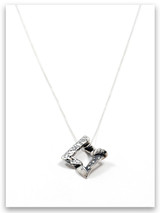 Journey of Faith Sterling Silver Pendant Necklace