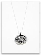 USA Jerusalem Sterling Silver Pendant Necklace
