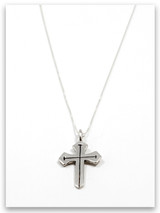 Sword of the Spirit Sterling Silver Pendant Necklace