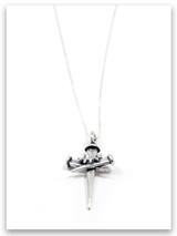Sacrifice Sterling Silver Pendant Necklace