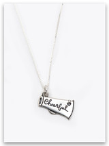 Cheerful Sterling Silver Necklace