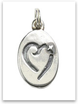 Sterling Silver Foster Care Charm