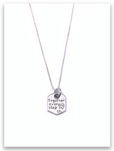 Every Step Sterling Silver Necklace