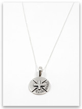 Redeemed Sterling Silver Pendant Necklace