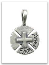 Redeemed Sterling Silver Pendant