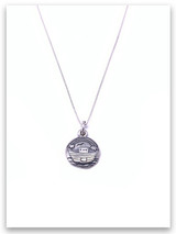 Noah's Ark Sterling Silver Necklace