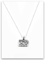 Sisters Sterling Silver Necklace
