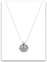 Embers of Hope iTAG Sterling Silver Necklace