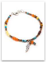 Fly Precious Stones Bracelet