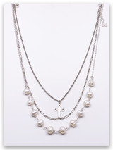 More Precious Pearl Layered Necklace