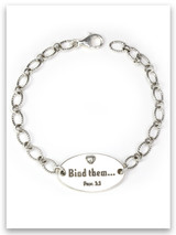 Bind Them Sterling Silver Chain Bracelet