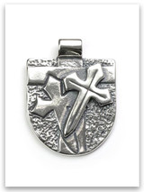Armor of God Sterling Silver Pendant