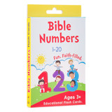 Bible Numbers Boxed Cards for Kids