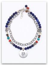 99/1 Lapis Double Strand Bracelet