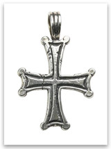 Bethesda Cross Sterling Silver Pendant