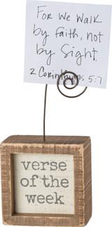 Verse of The Week Photo Block