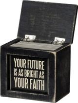 Words Of Wisdom - Faith Box