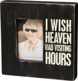 Visiting Hours Photo Frame