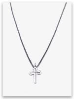 Sword of the Spirit w/med box chain Cross for Guys