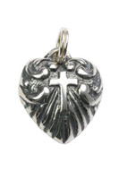 Heart Charm Sterling Silver