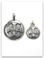 Hoplon Shield Men's Pendant (wife charm sold separate)