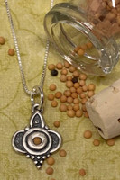 Beautiful Mustard Seed Necklace
