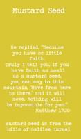 Mustard Seed Faith Matthew 17:20