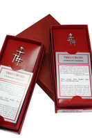 Sterling Grace Signature Red Packaging -(Sample packaging only-Peace of the Lord will be packaged with its Mesaage card etc.)
