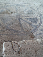 Magdala Israel floor in Synagogue First Century