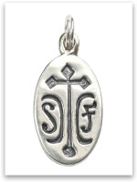 Sterling Silver Sister Friend Charm