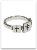 Trio Cross Ring