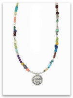 Choose Joy Multi Stone Necklace
