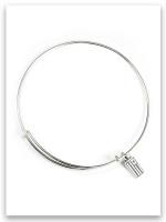 Sterling Silver Slider Bracelet for iTAG Charms