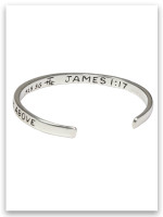 Infant Every Good and Perfect Gift is from above bracelet (back)