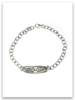 Guard and Protect Sterling Link Bracelet