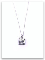 Flower Girl Sterling Silver Necklace
