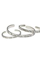 Mother's bracelet, infant bracelet, child's bracelet. I will praise YOU sterling silver cuff bracelet. Psalm 139:14
