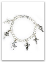Example: Charm Bracelet with charms