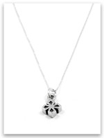 My Strength iTAG Sterling Silver Necklace