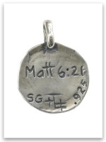 Heart 4 Him Sterling Silver iTAG Charm