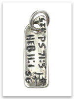 Hope Sterling Silver iTAG Charm