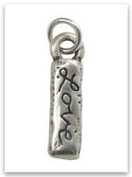 Love Sterling Silver iTAG Charm