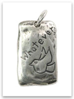 Whatever Sterling Silver iTAG Charm