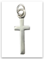 East-West Sterling Silver iTAG Charm