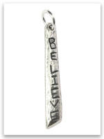 Believe Sterling Silver iTAG charm