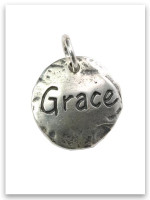 Touched by Grace Sterling Silver iTAG Charm