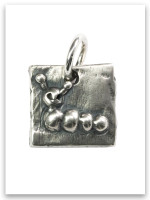 Caterpillar Sterling Silver Charm