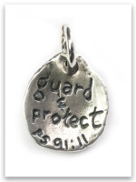 Angel Sterling Silver Charm